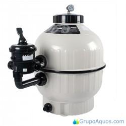 Filtro Cantabric 400 Astralpool Válvula selectora Lateral 6000l/h - Cod. 22398
