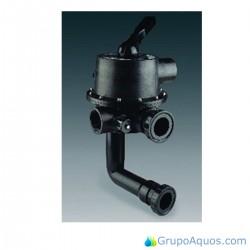 """álvula selectora lateral 2,5"""" con enlace a filtro Magnum Astralpool - Cod. 24837"""
